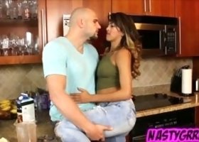 Sophia Leone and her boyfriend Jmac have a yearly ritual called creampie day of the year, where he gets to give her a nice juicy creampie! He has been
