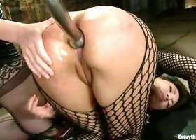 Horny Latin Bitch Gets Ass Drilled With A Toy