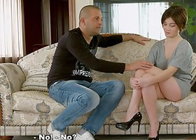 Short-haired Marfa knows that the stud will give her a good banging
