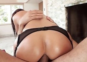 Crazy and hardcore anal action starring a lustful big-ass milf