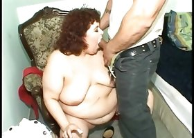 Fat mature fisted