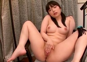 Japanese anal dildo fuck play for Hina Maeda