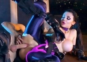 Pornstar With Great Curves Aletta Ocean Gets Ruined