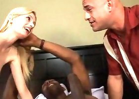 Kennedy Kressler and Her Cuck Husband Share a Black Dick by forester42