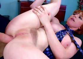 Young Penny Pax leaves boss to deep penetrate her shaved ass