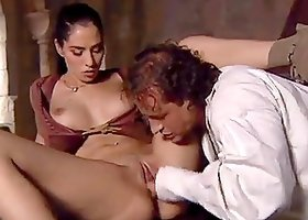 Hot medieval doggystyle sex in the castle
