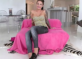 Christy Mack gets her snatch pounded every which way