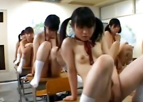 Japanese female students are being ed for being naughty