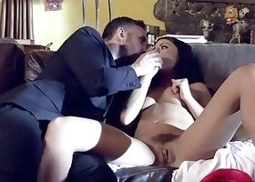 Fierce babe gets her bum screwed deep