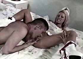 Tabitha Stevens gets her cunny licked and he slams it into her cootch